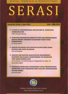 Cover Jurnal Vol 10 April 2015